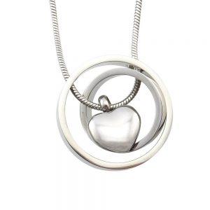 Ashanger rvs hart circle