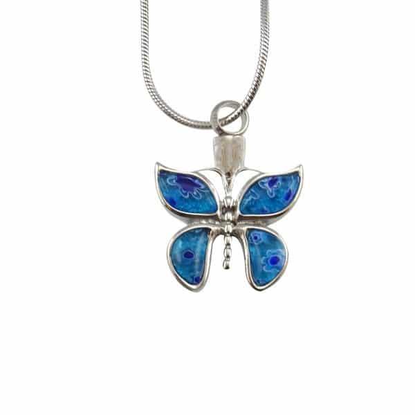 Ashanger vlinder blauw