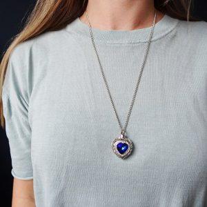ashnager-hart-rvs-zilver-steen-blauw-dames