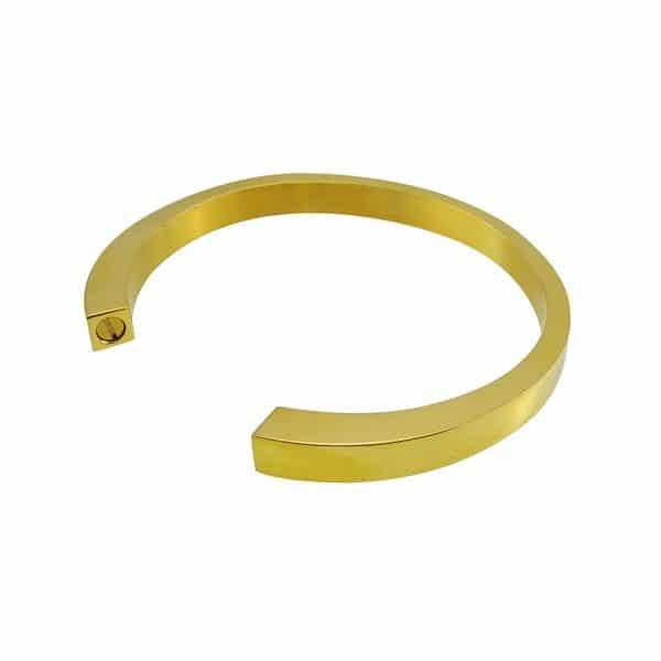 as armband circle open goud