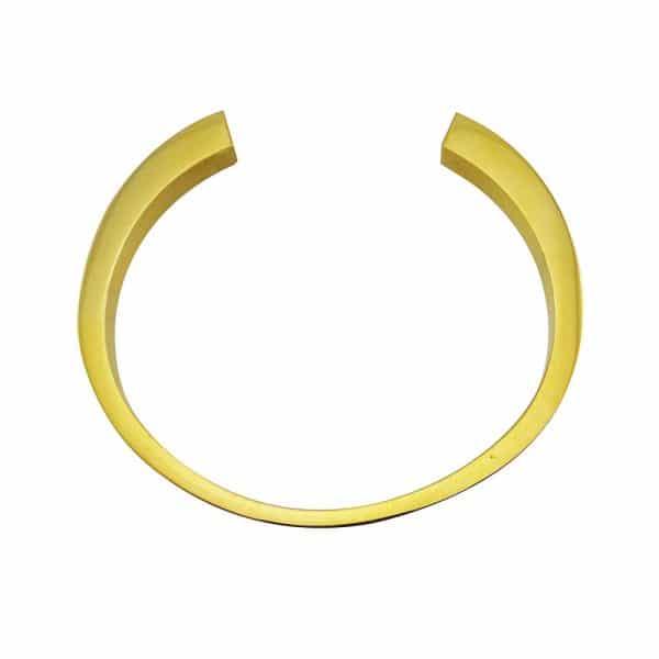 as armband circle open goud zij