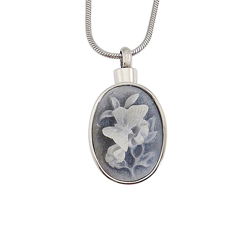 Ashanger ovaal vlinder blauw