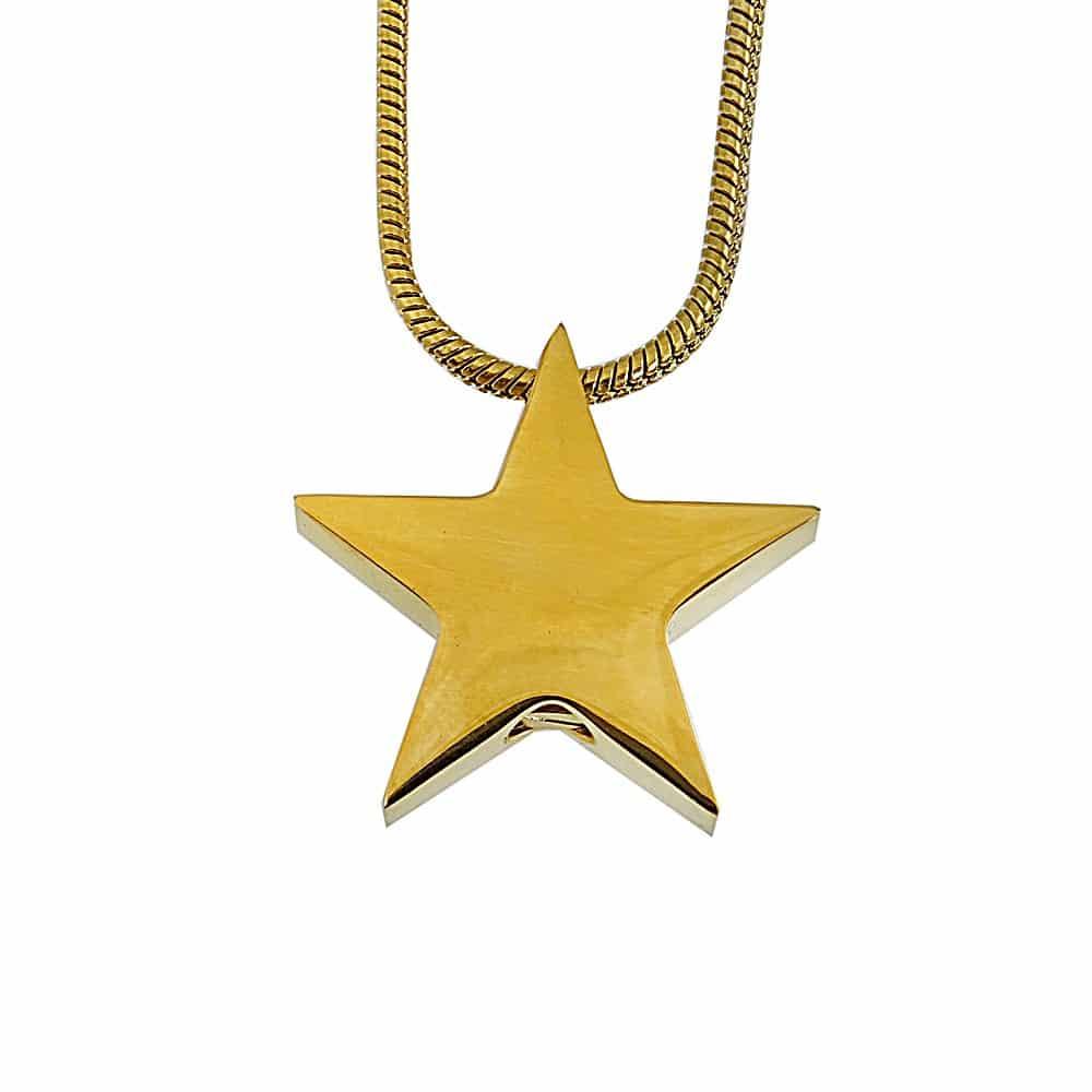 Ashanger ster goud