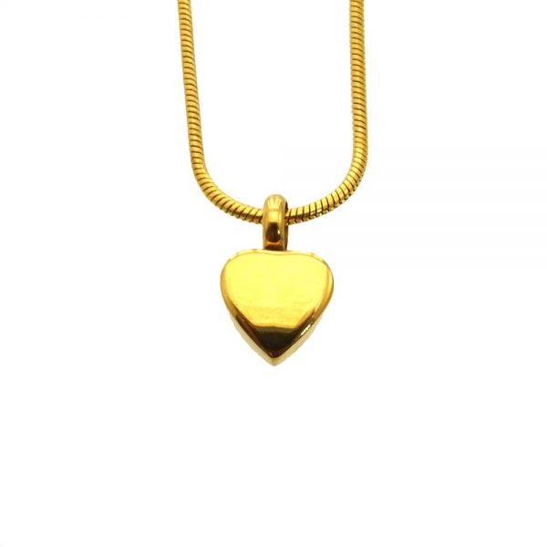 Ashanger hart klein goud