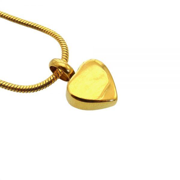 Ashanger hart klein goud zij