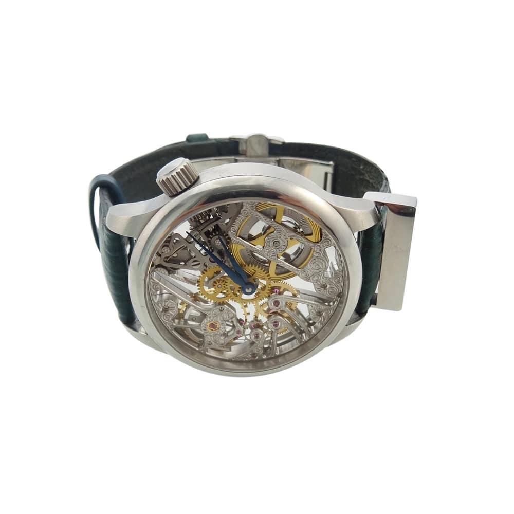 Assieraad horloge rvs aan horloge groot