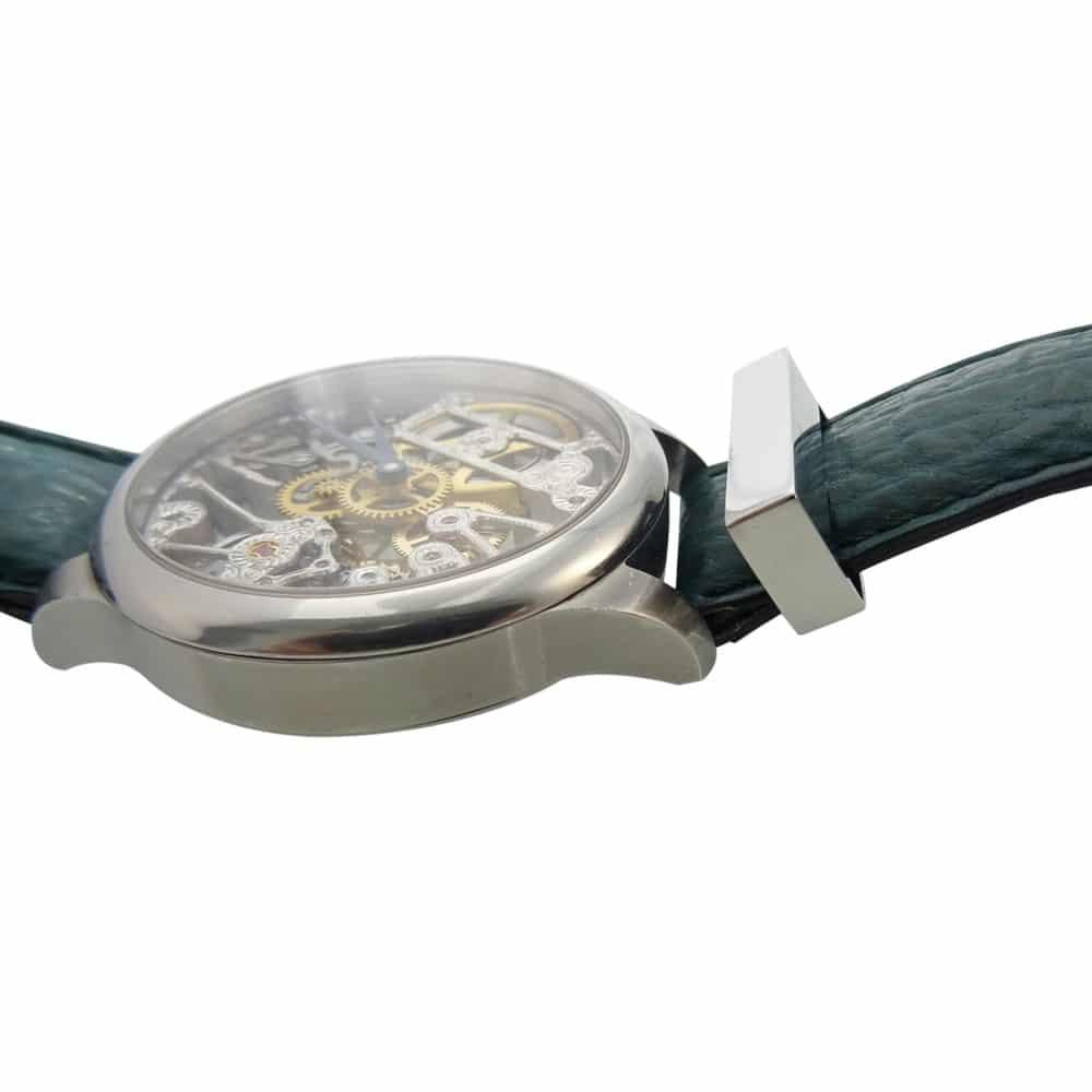 Assieraad horloge rvs band groot aan
