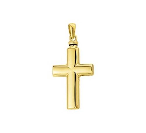 Ashanger goud 14k kruis