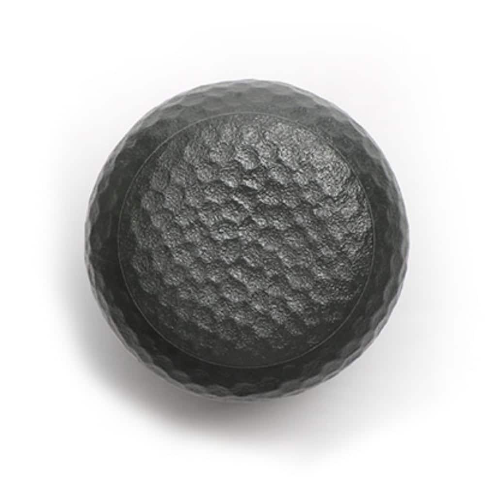 Urn keramiek hamerslag ronde vaas zwart boven