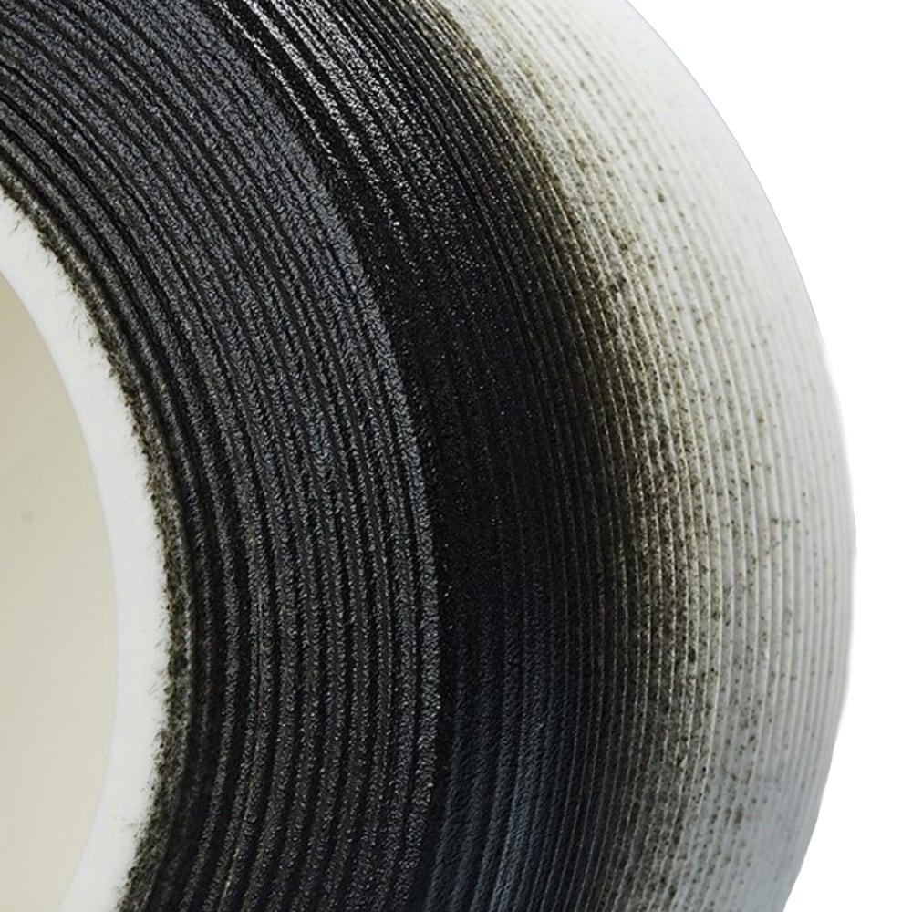 Urn keramiek Japanse Heiwa zwart wit verloop detail